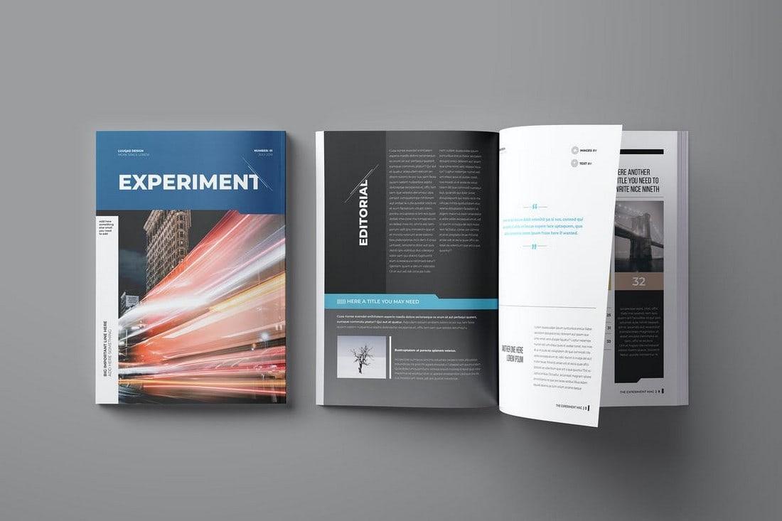 Experiment-Affinity-Publisher-Magazine-Template 15+ Best Affinity Publisher Templates & Assets 2020 (Free & Premium) design tips