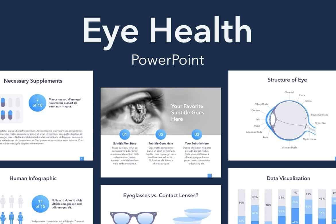 Eye Health - PowerPoint Template