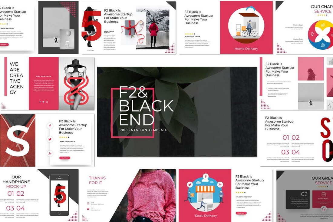 F2-Black-End-Cool-Powerpoint-Template 20+ Best Cool PowerPoint Templates design tips