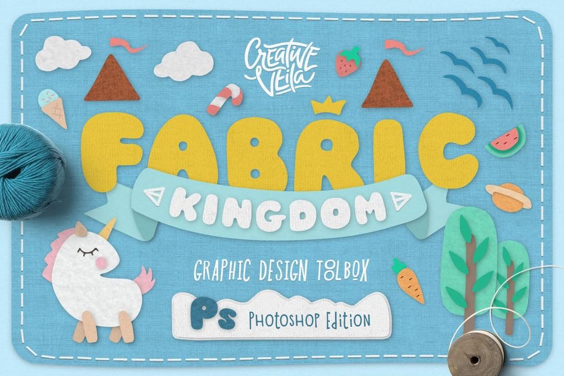 Fabric Kingdom Photoshop Edition