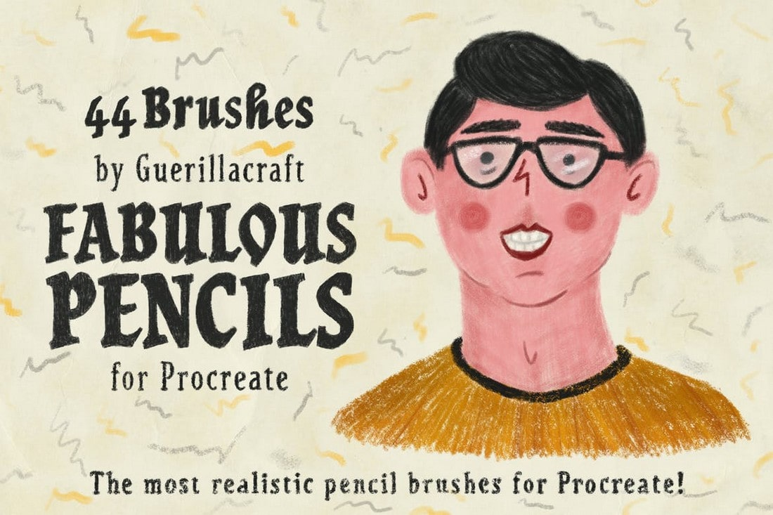 Fabulous-Pencils-Brushes-for-Procreate 30+ Best Procreate Brushes 2020 (Free & Pro) design tips