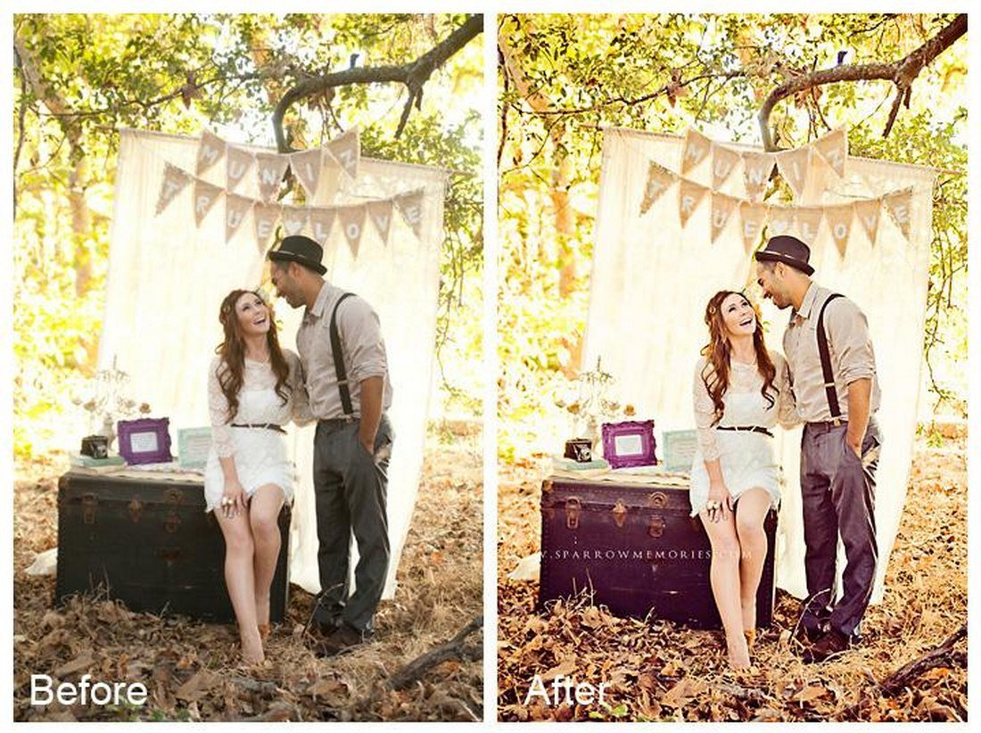 Facebook Fix - Free Wedding Photoshop Action