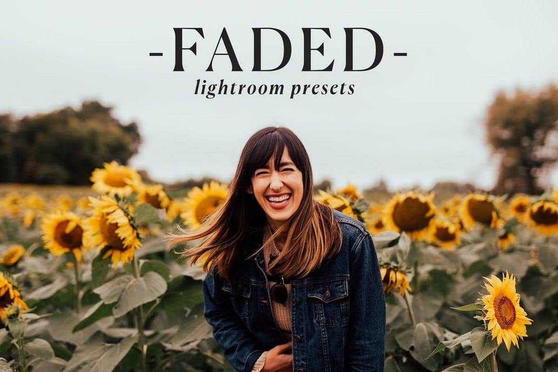 Faded Effect - Lightroom Presets