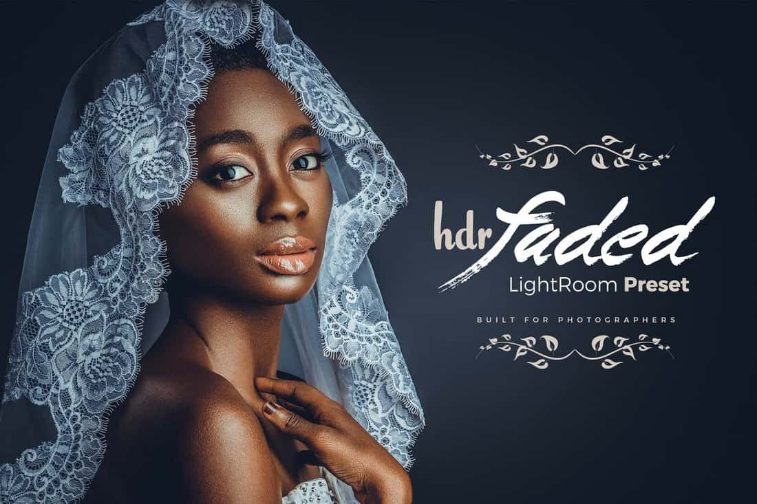 Faded-HDR-LightRoom-Effect 50+ Best Lightroom Presets for Portraits (Free & Pro) 2020 design tips