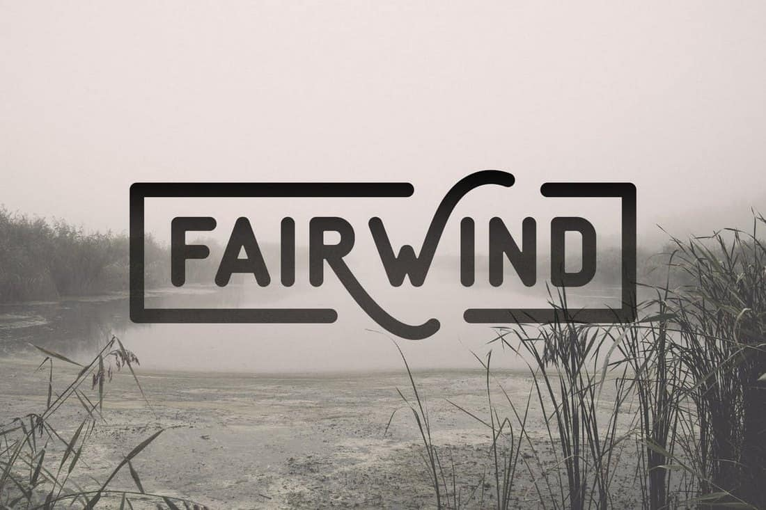 Fairwind - Modern-Vintage Font