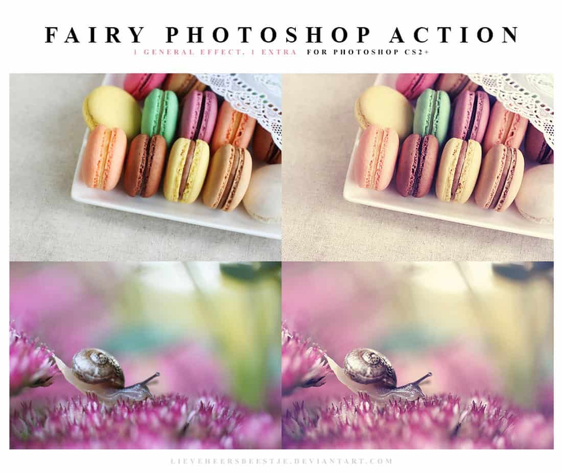 Fairy Free Photoshop Action