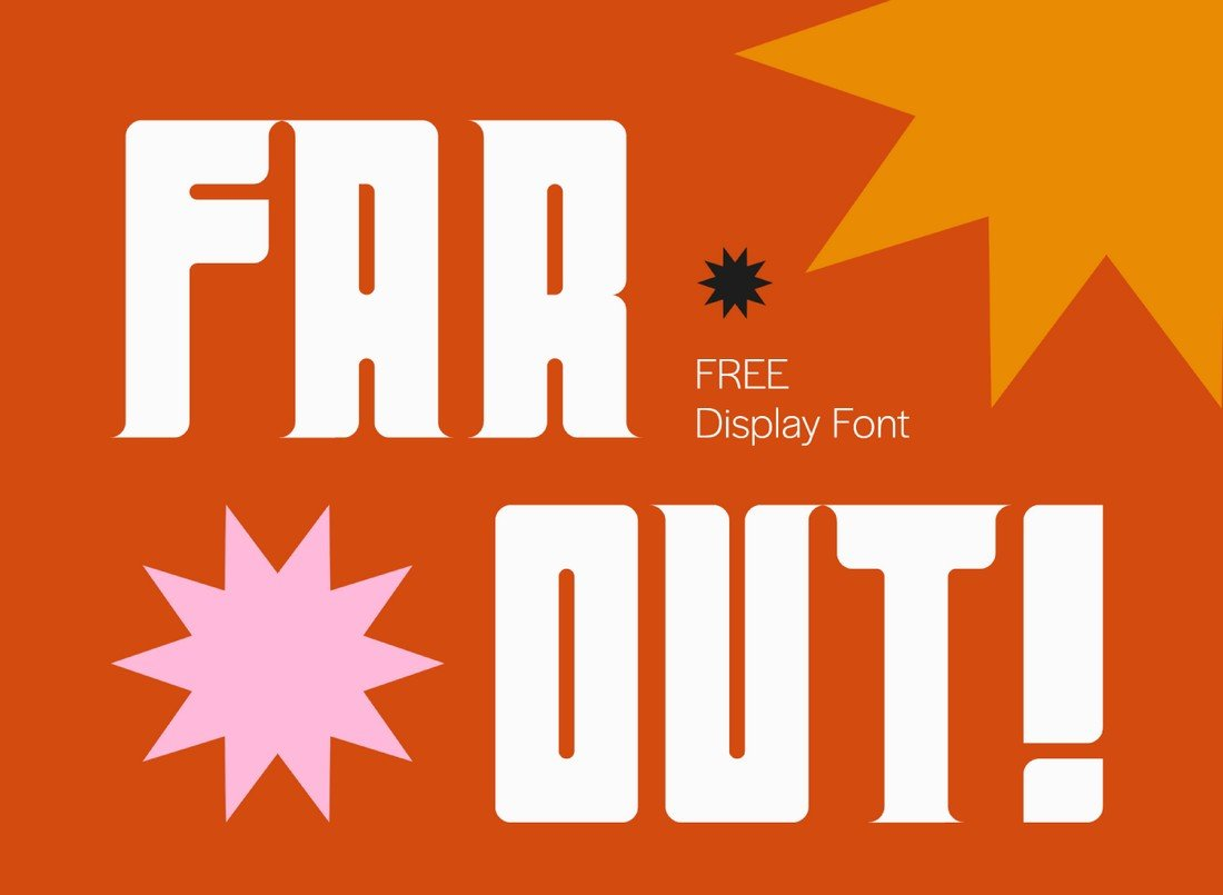 Far Out! - Free Chunky Font