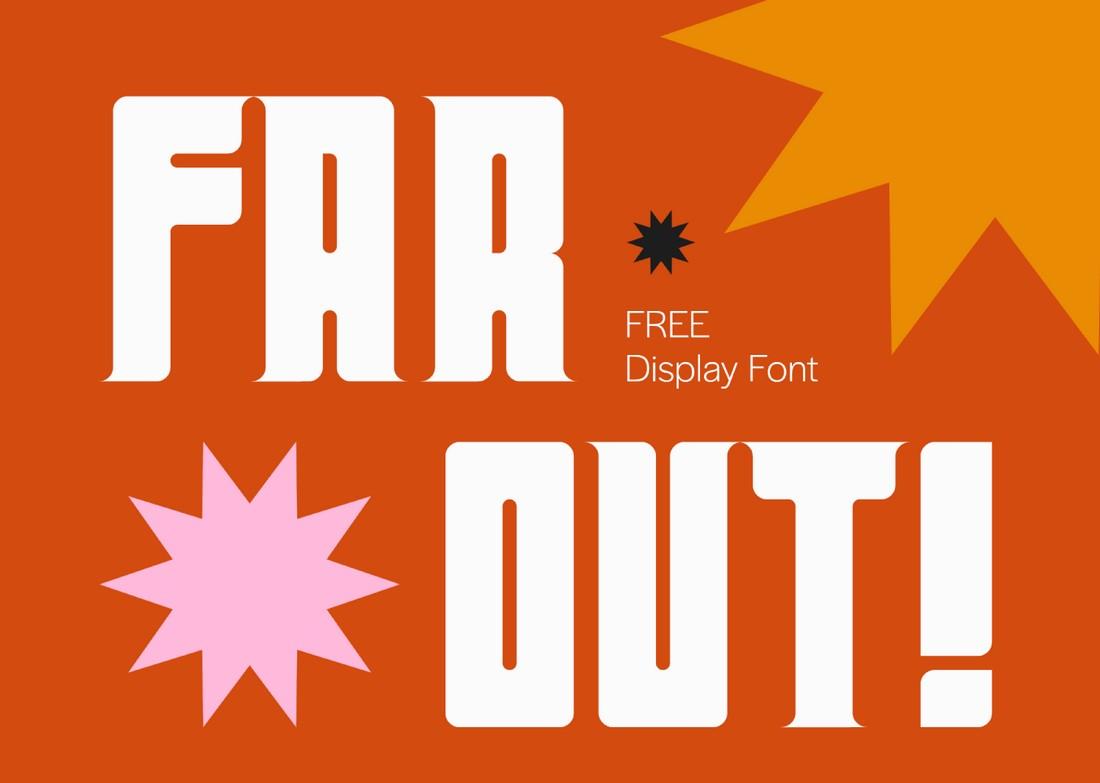 Far-Out-Free-Retro-Font 25+ Best Retro Fonts in 2021 (Free & Premium) design tips