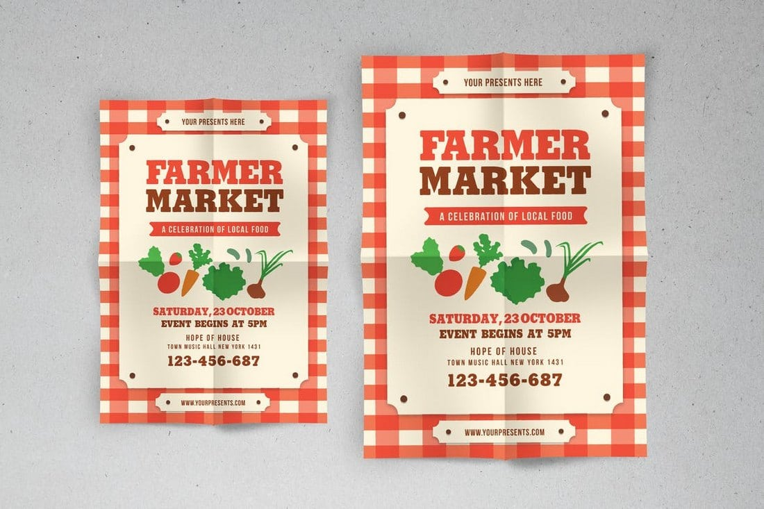 Farmer-Market-Event-Flyer 20+ Best Event Flyer Templates design tips