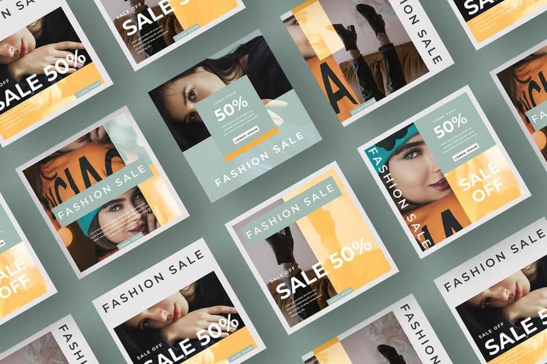 Fashion & Apparel Instagram Banners