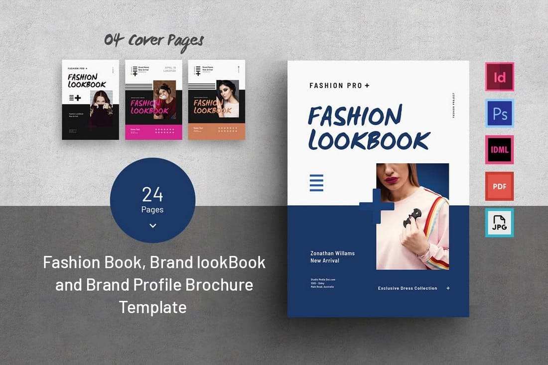 Fashion & Brand Look book Template