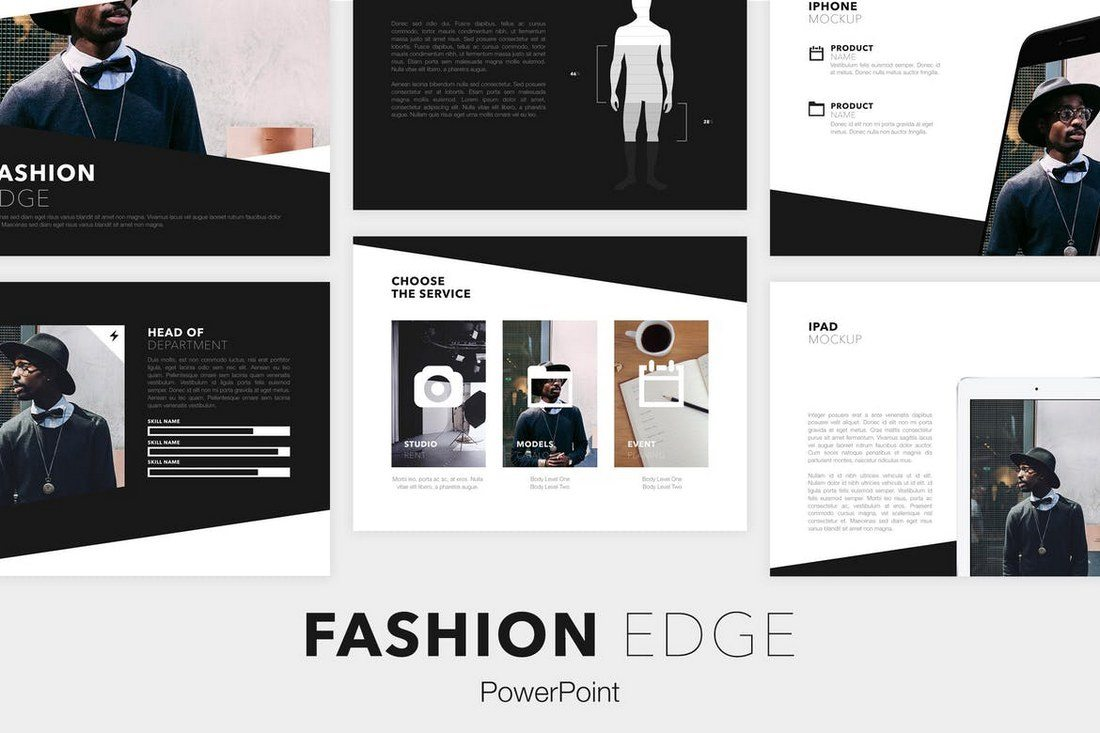 Fashion-Edge-PowerPoint-Template 50+ Best PowerPoint Templates of 2019 design tips