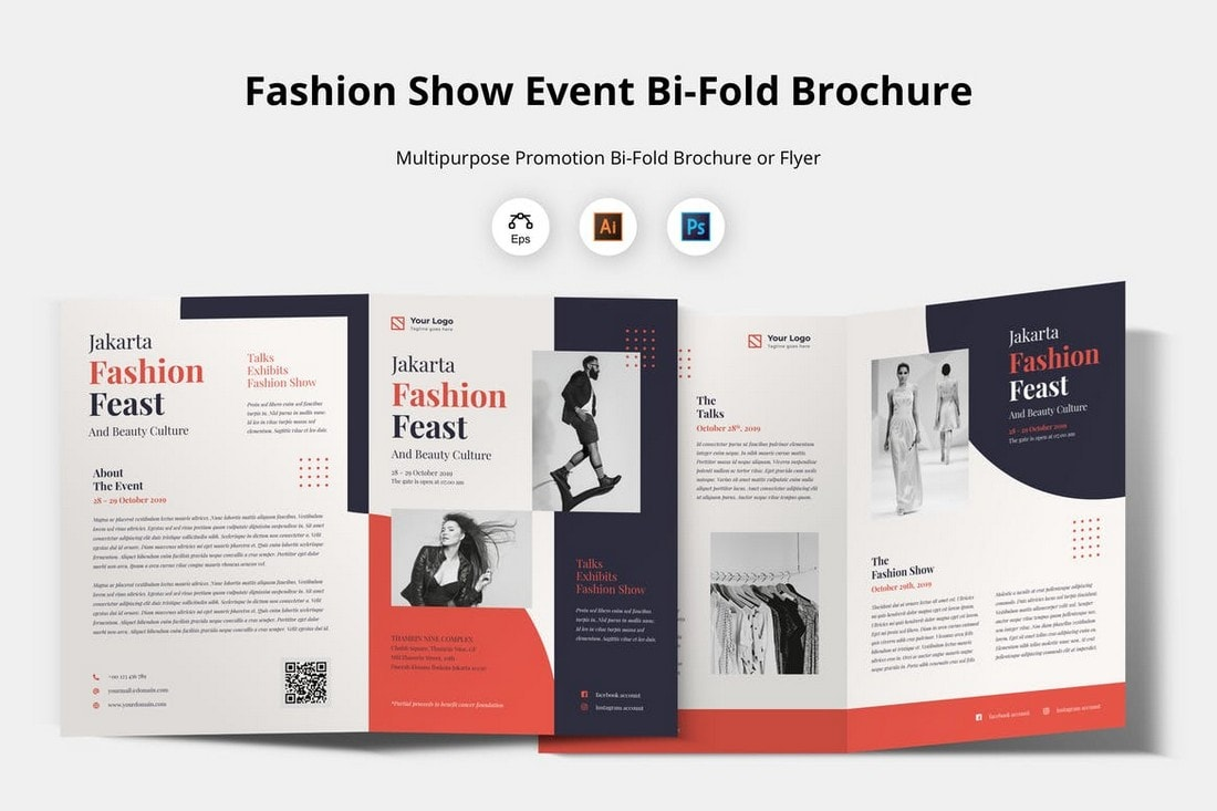 Fashion Event Multipurpose Brochure Template