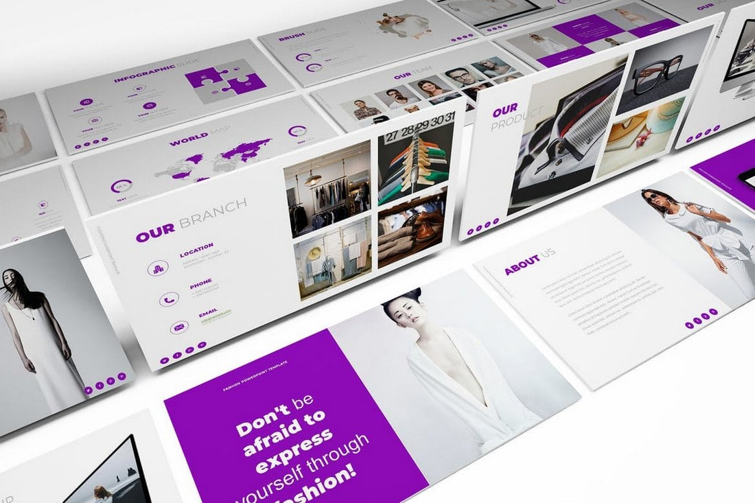 Fashion-Google-Slides-Template 30+ Best Google Slides Themes & Templates 2018 design tips