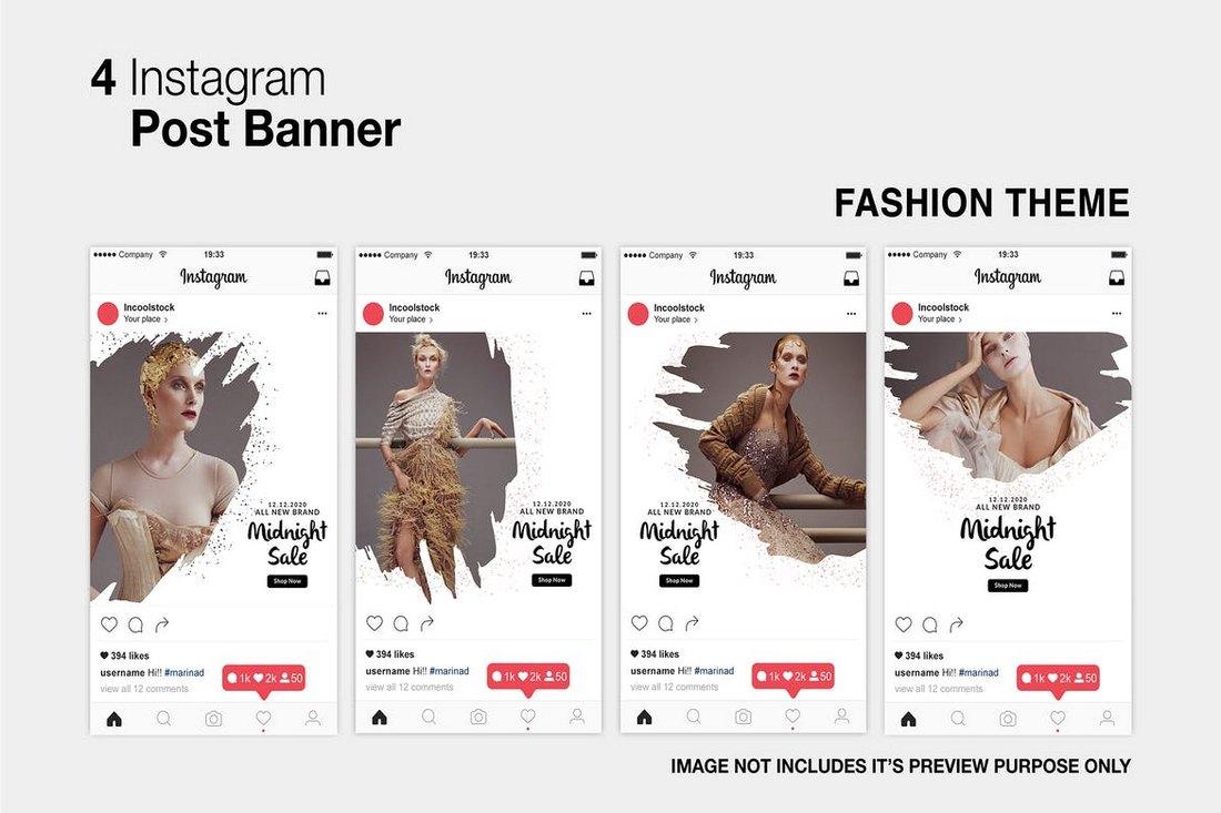 Fashion Instagram Post Templates