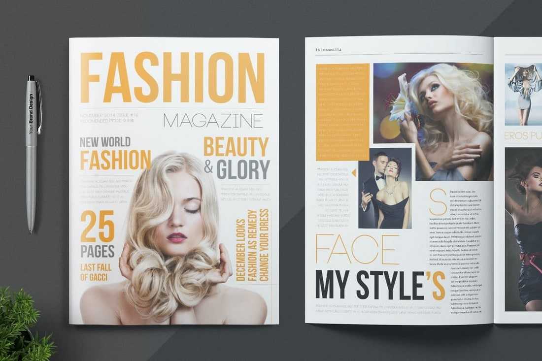Fashion & Lifestyle Magazine InDesign Template