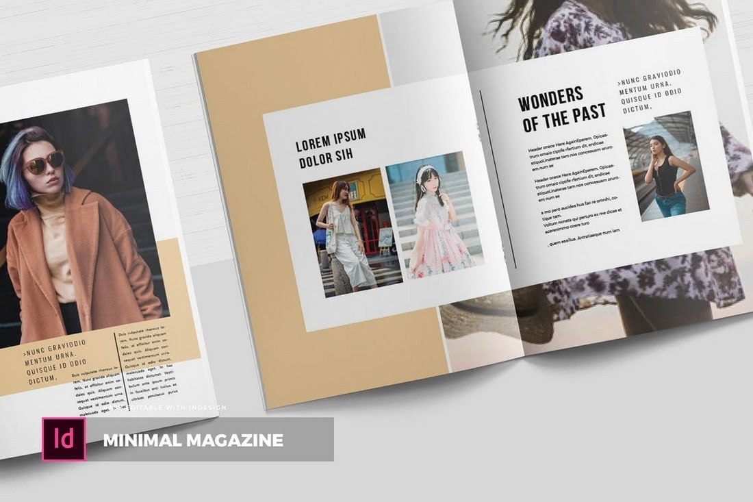 Fashion Magazine InDesign Template