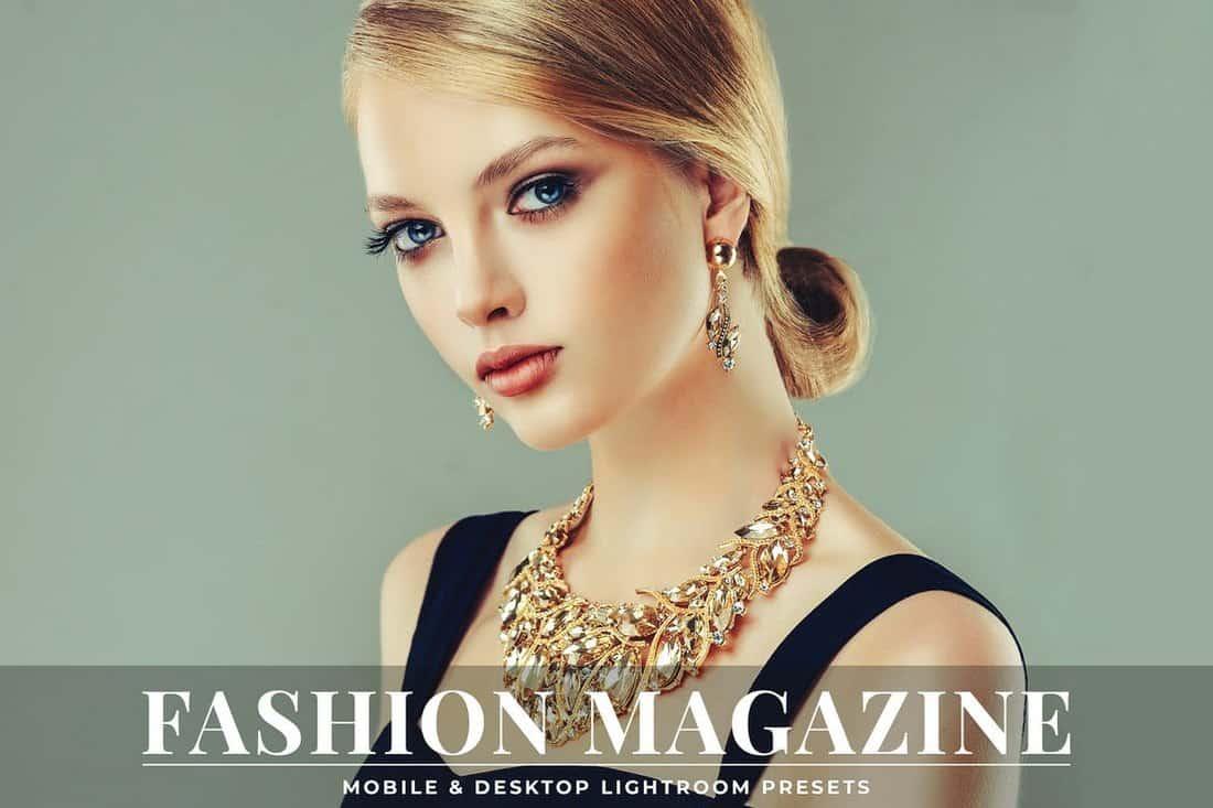 Fashion Magazine Lightroom Presets