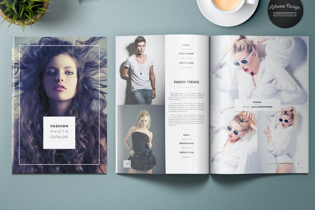 Fashion Photo Catalog & Magazine Template
