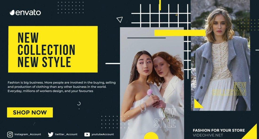 Fashion Promo Slideshow Template for Premiere Pro