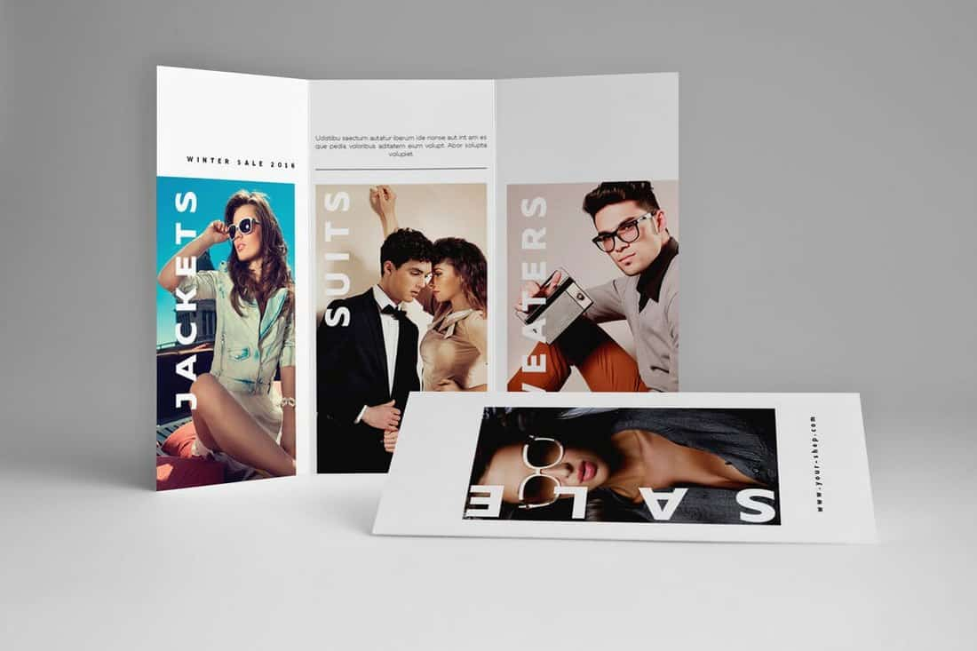 Fashion Trifold Brochure Template