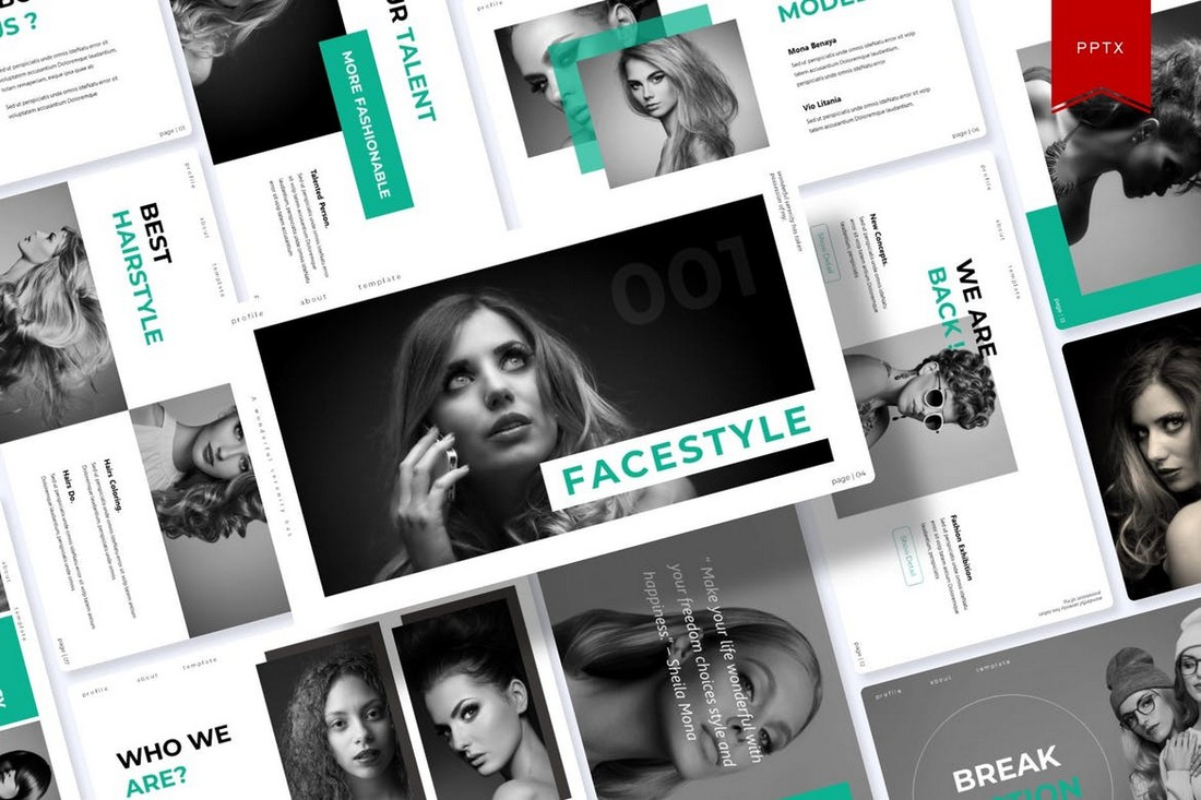 Fecestyle-Modern-Animated-PowerPoint-Template 30+ Animated PowerPoint Templates (Free + Premium) design tips
