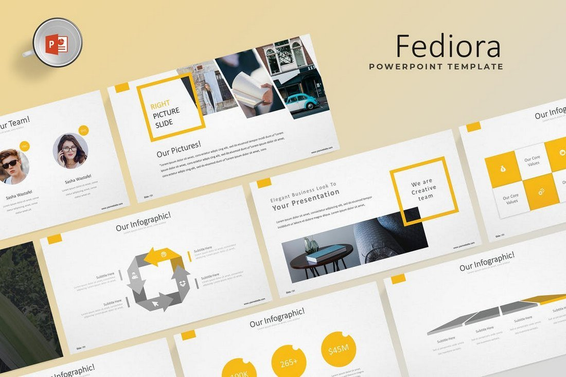 Fediora - Powerpoint Template