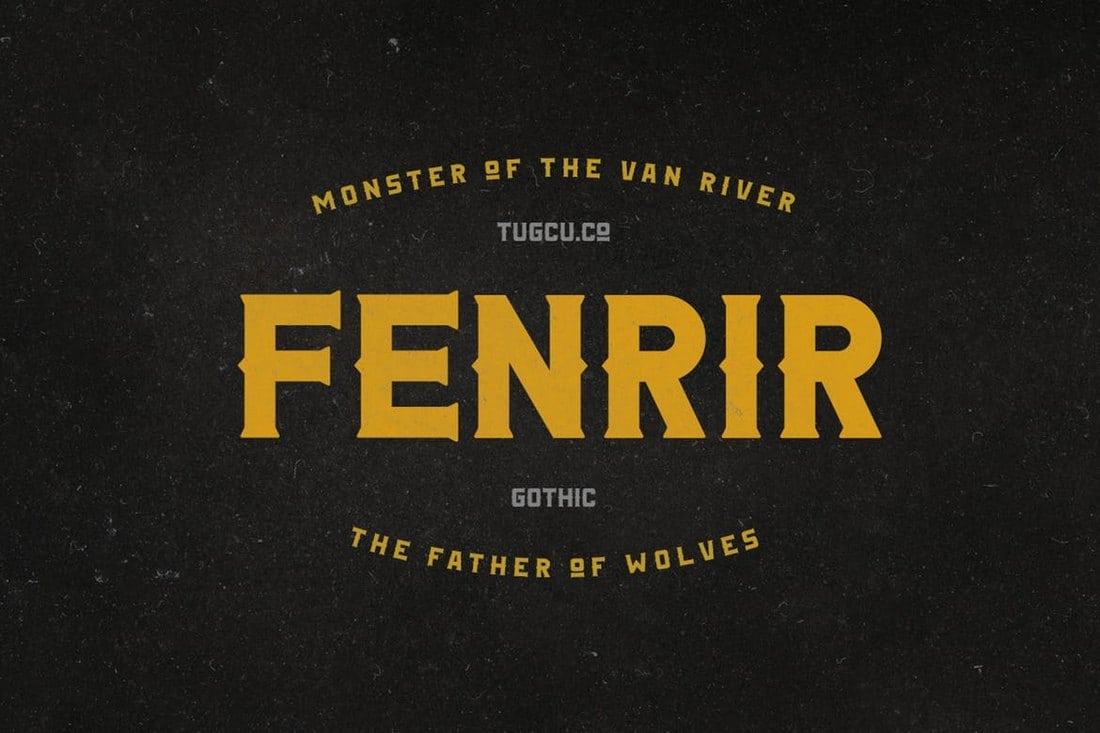Fenrir-Gothic 100+ Best Modern Serif Fonts design tips
