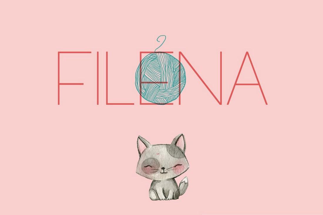 Filena - Simple Casual Font