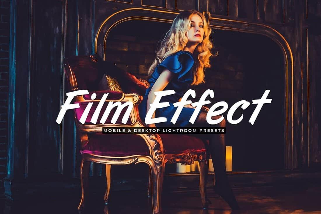 Film-Effect-Mobile-Desktop-Lightroom-Presets 20+ Professional Lightroom Presets design tips  Inspiration