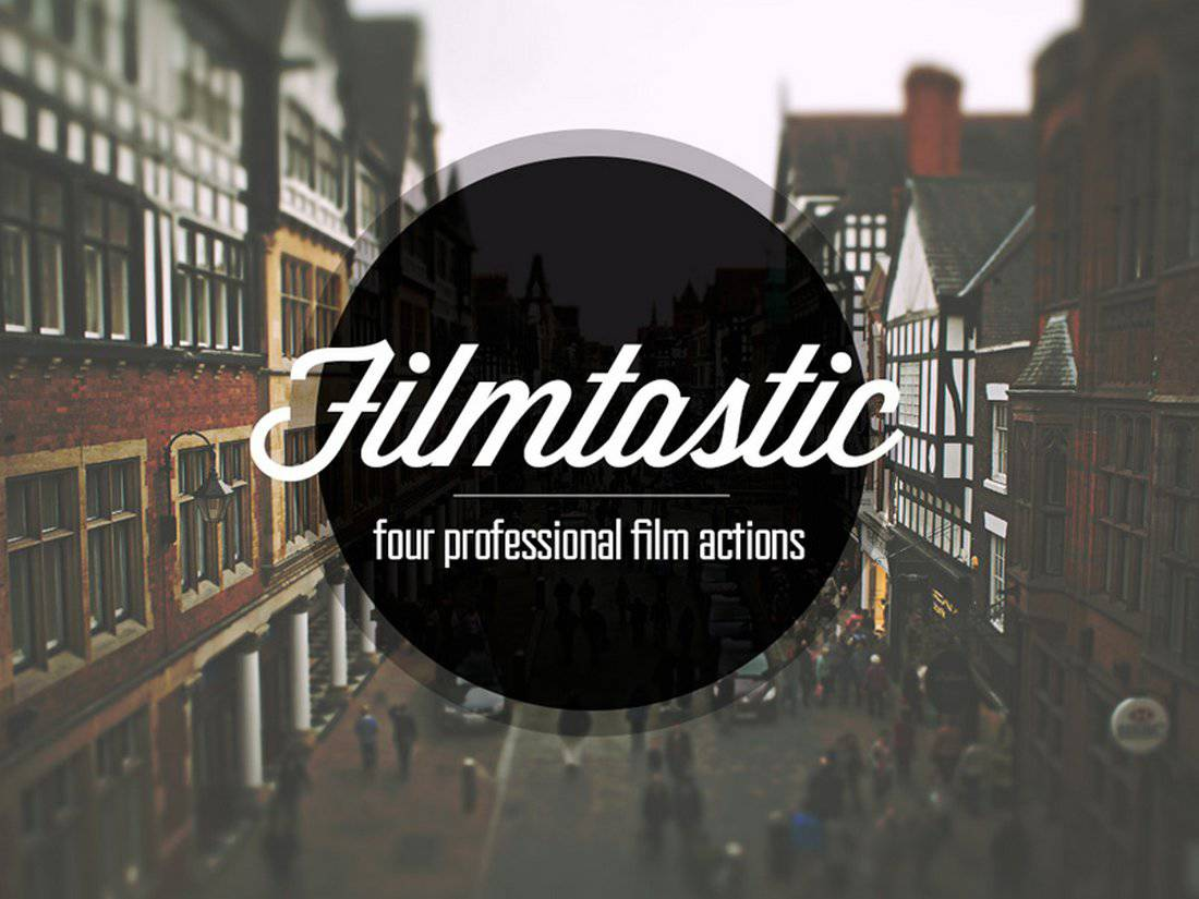Filmtastic Free Photoshop Action