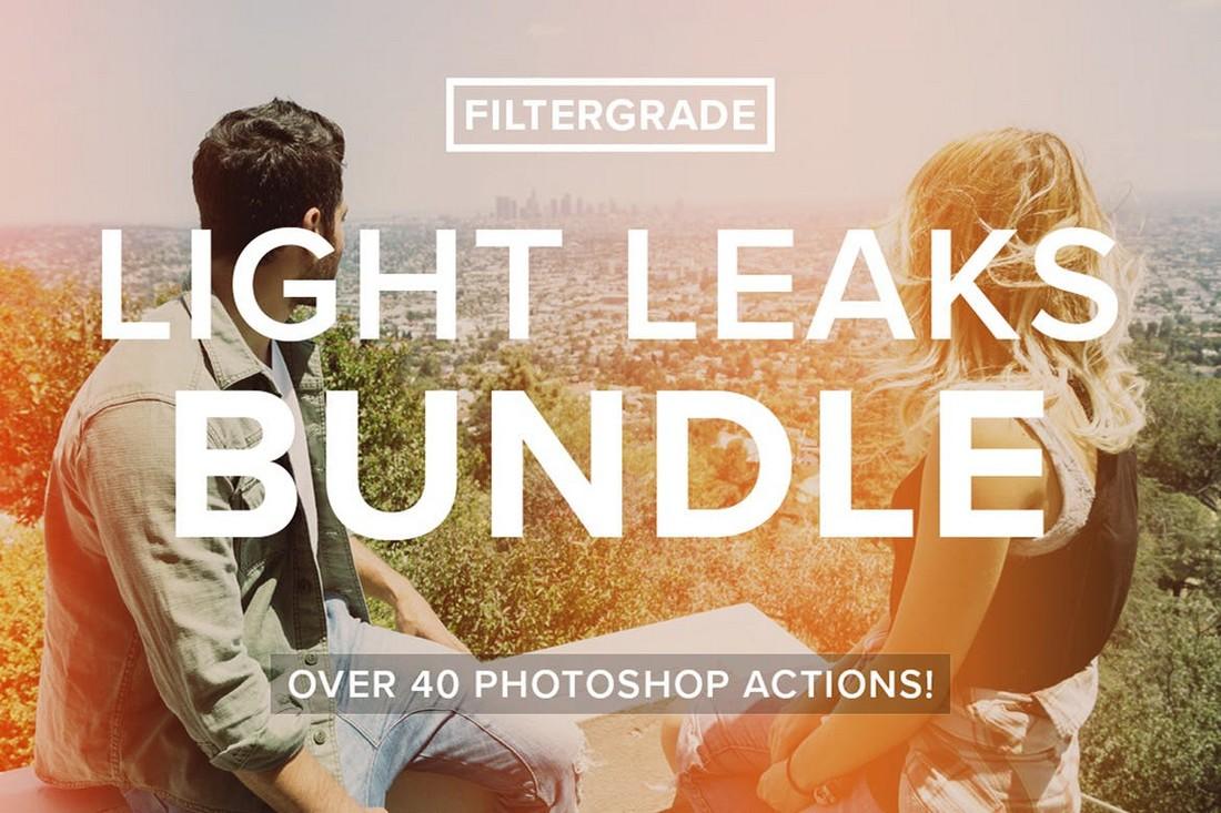 FilterGrade Light Leaks Photoshop Effects