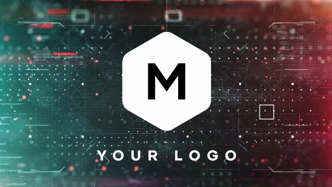 Find Face - Logo Reveal After Effects Template