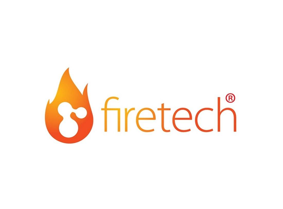 Fire Tech - Free Illustrator Logo Template