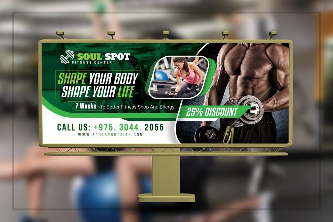 Fitness Gym Billboard