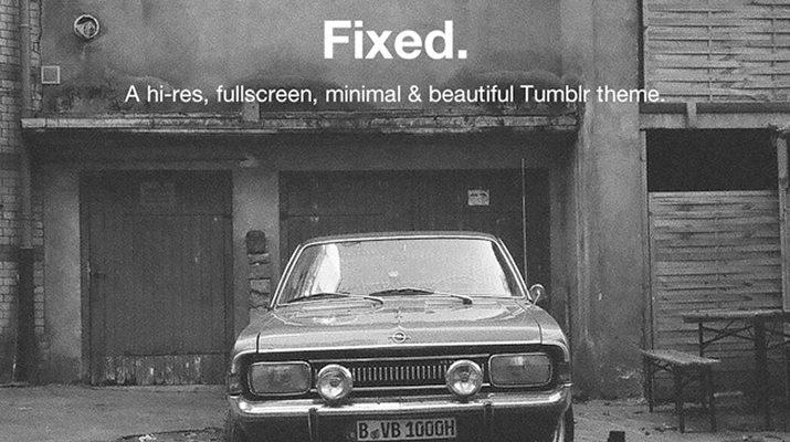 Fixed-Tumblr-Theme