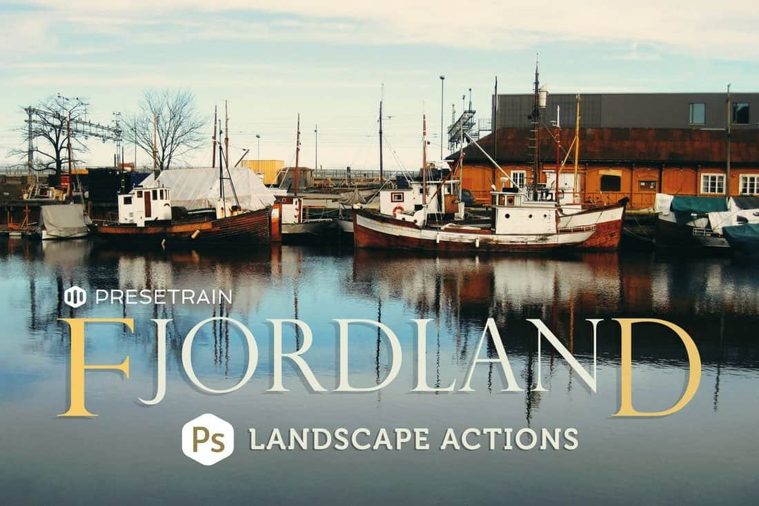 Fjordland - Landscape Photoshop Actions