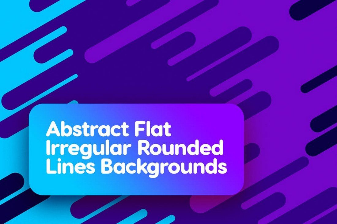 Flat-Irregular-Rounded-Lines-Backgrounds 30+ Best Line Patterns & Textures design tips