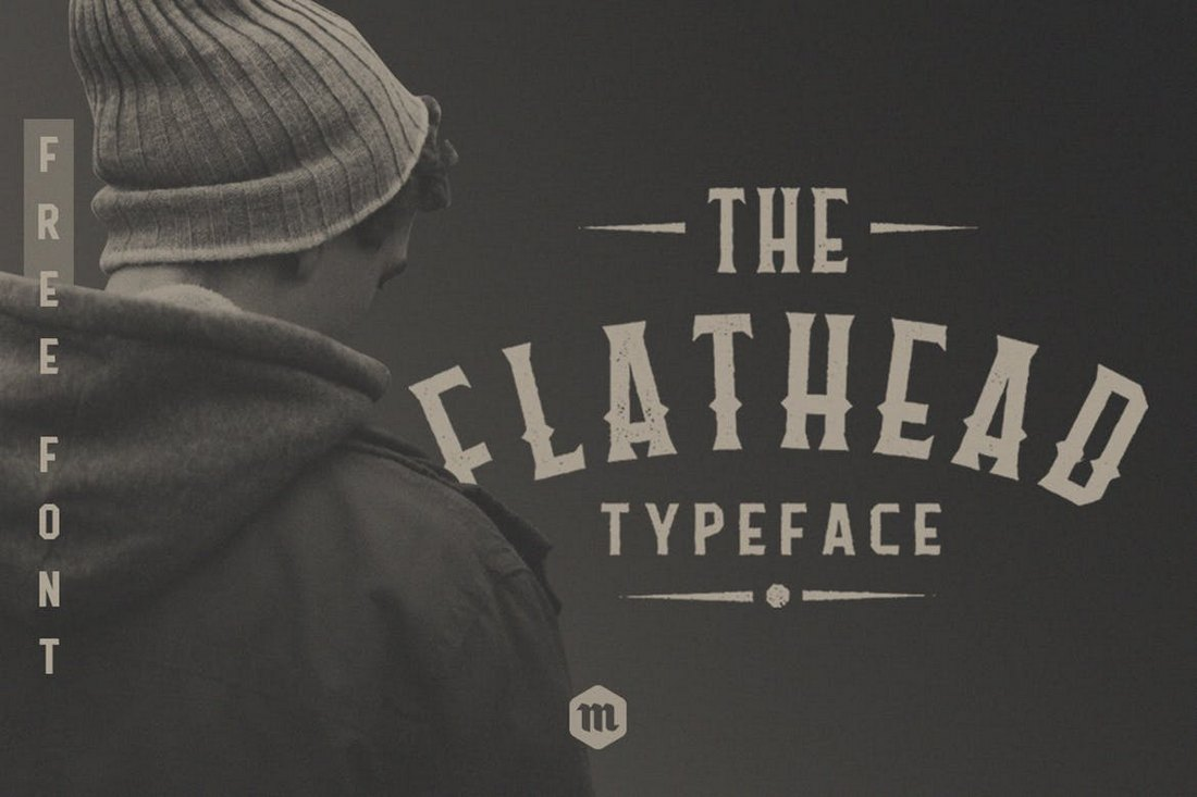 Flathead-Creative-Tattoo-Font 20+ Best Tattoo Fonts & Lettering design tips