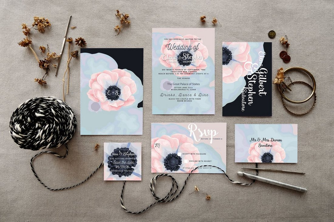Wedding Invitation Card Sample: 50 Wonderful Wedding Invitation & Card Design Samples