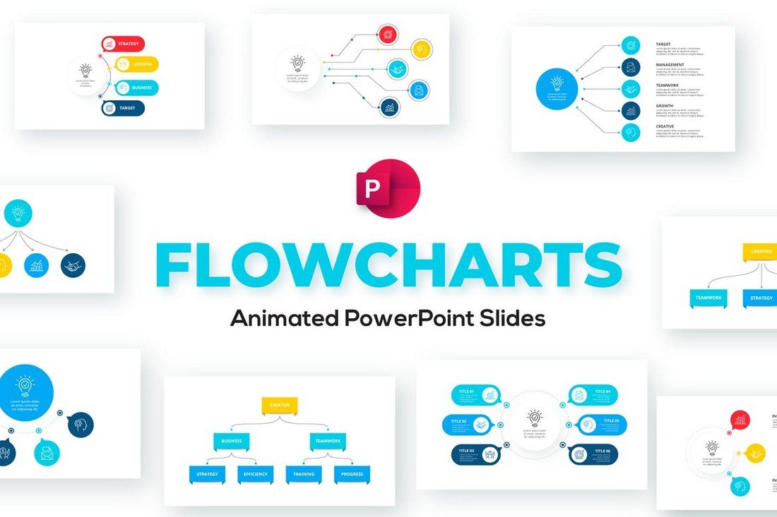 Flow Chart Templates for PowerPoint Presentations