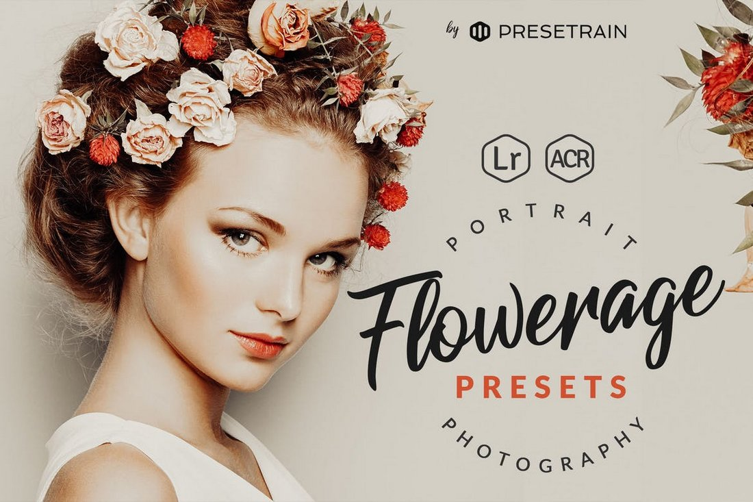 Flowerage Portrait Presets for Lightroom