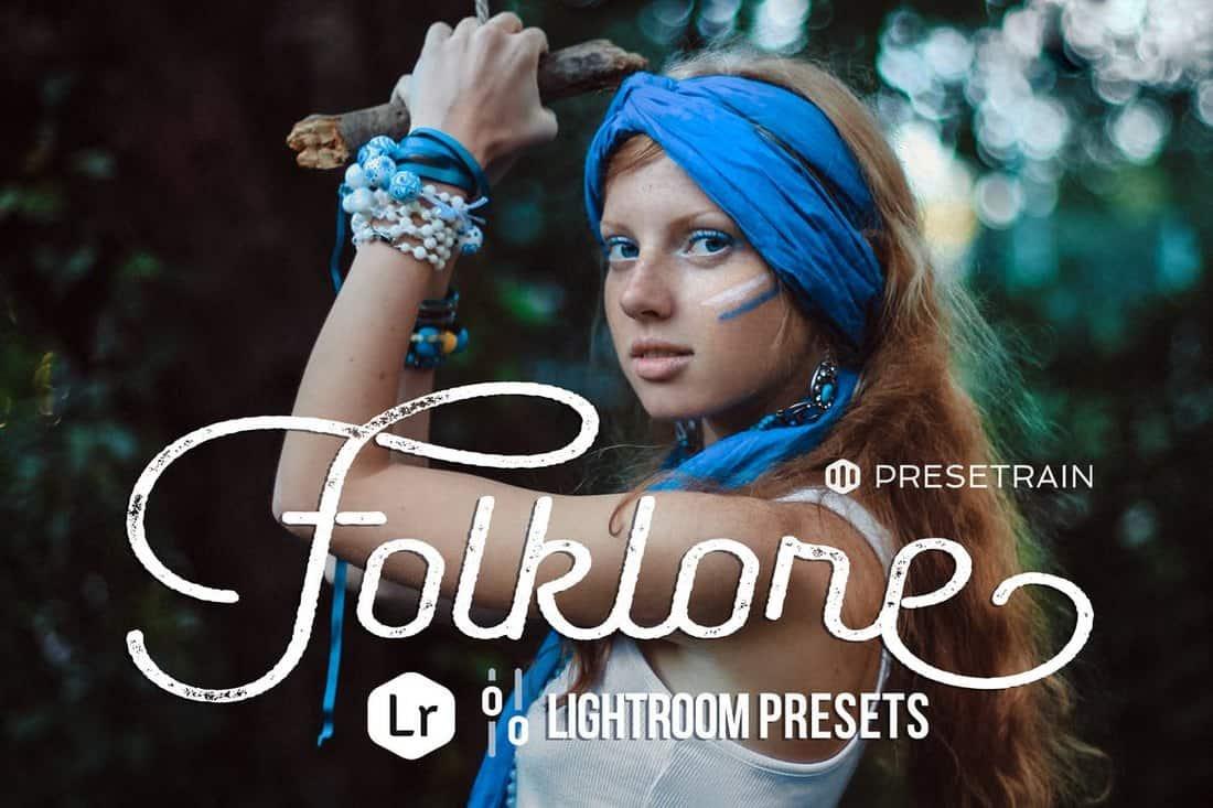 Folklore Toning Lightroom Presets