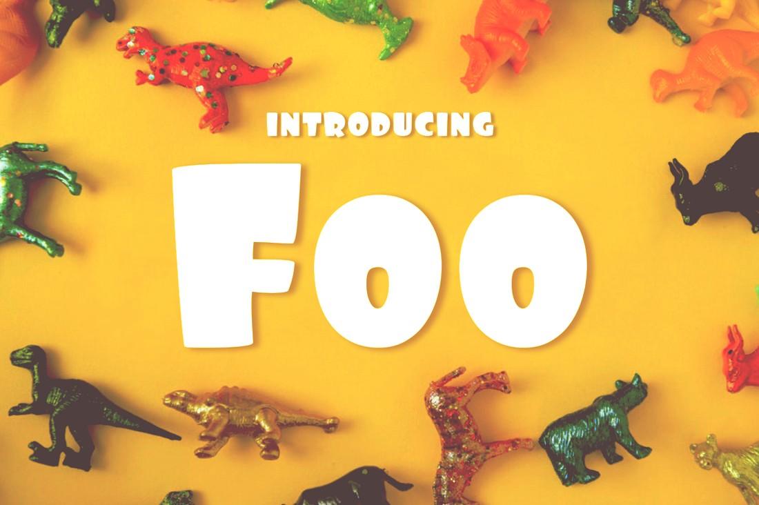 Foo - Free Creative Chunky Font