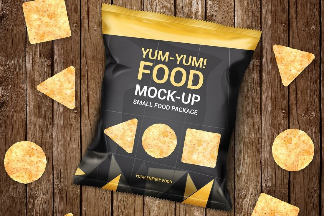 30+ Stunning Food, Drink & Packaging Design Mockups 30