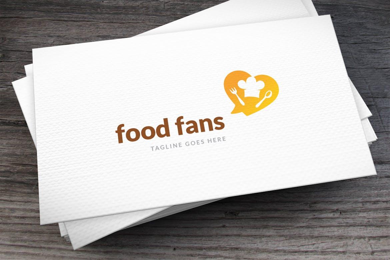 Food-Fans-Logo-Template 50+ Best Minimal Logo Design Templates design tips