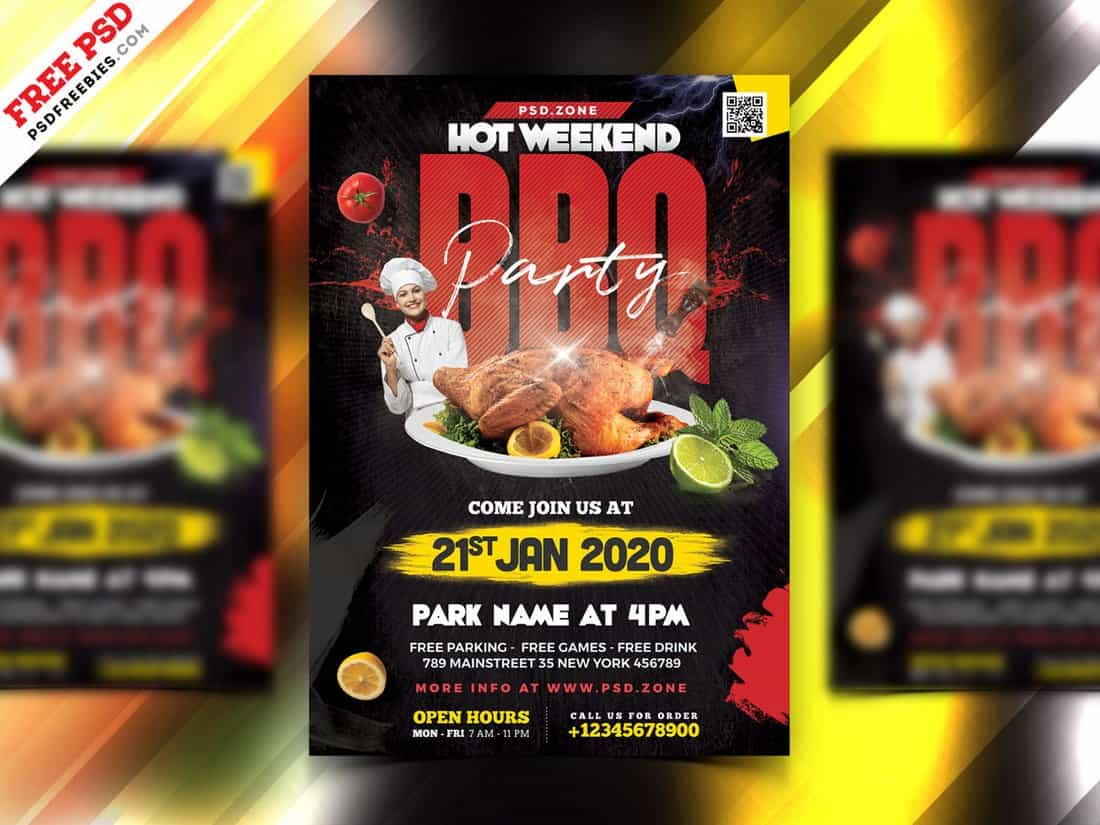 Food & Festival Flyer Template