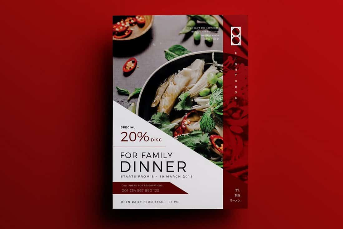 Food & Restaurant Flyer Template