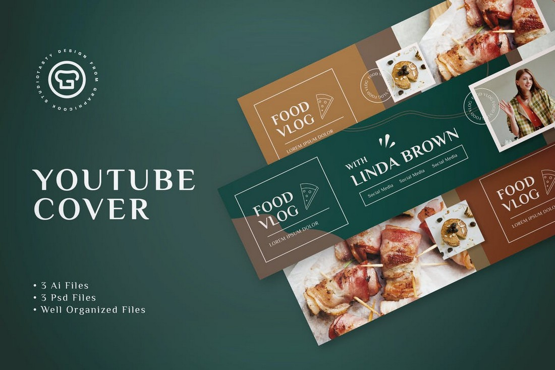 Food Vlog Youtube Cover