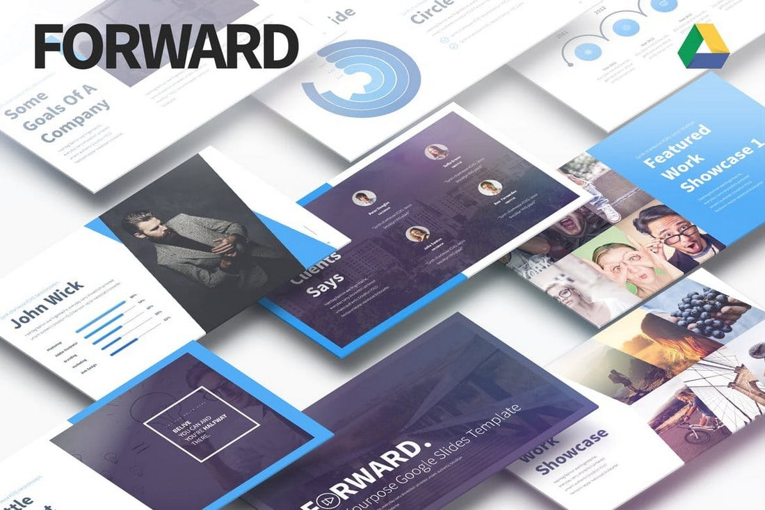 Forward-Multipurpose-Google-Slides-Template-1 25+ Modern, Premium Google Slides Templates & Themes design tips